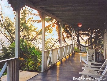 Porch with Ocean View - Sea-U Guest House