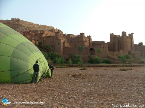 Image #3 of 7 - Ciel d'Afrique, Hot Air Balloon over Morocco