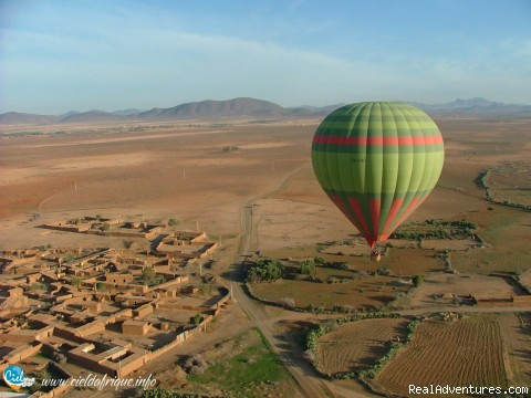 - Ciel d'Afrique, Hot Air Balloon over Morocco
