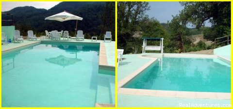 Swimming Pool (#2 of 7) - Romantic Weekend in Umbria B&B Borghetto di Pedana