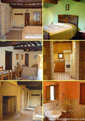 Apartment First Floor (#4 of 7) - Romantic Weekend in Umbria B&B Borghetto di Pedana