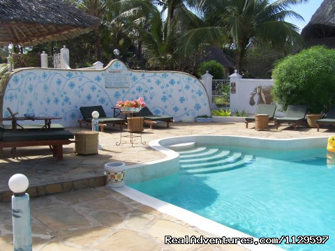 The Pool - Tajriviera House Diani Beach Kenya