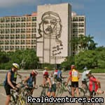 Plaza de la Revolucion in Havana - Cycling trips in Cuba