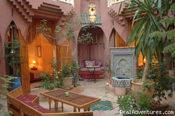 Riad Amira Victoria Patio (#1 of 11) - Riad Amira Victoria B&B in Marrakech Morocco