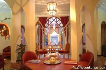Riad Amira Victoria Lounge - Riad Amira Victoria B&B in Marrakech Morocco