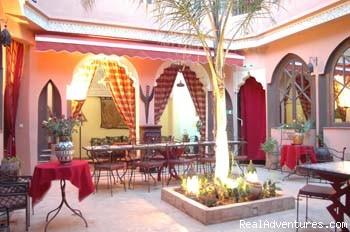 Riad Amira Victoria Patio 2 - Riad Amira Victoria B&B in Marrakech Morocco