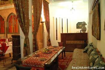 Riad Amira Victoria Lounge 2 (#4 of 11) - Riad Amira Victoria B&B in Marrakech Morocco