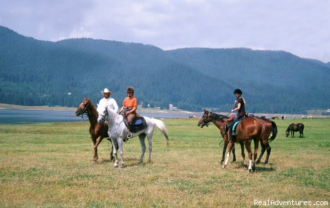 Ride by the Lake Dospat - Equestrian&Adventure vacation in beauty Bulgaria