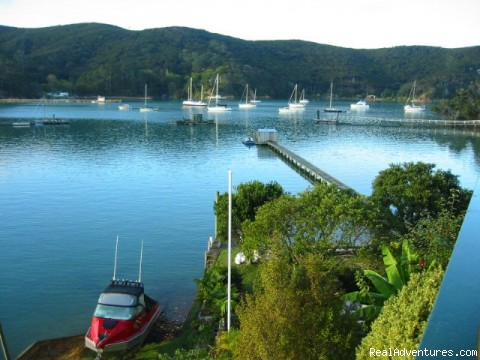 View from deck across bay (#1 of 18) - Island Retreat - Kawau Island Experience