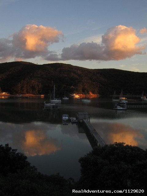 Sunset in the bay - Island Retreat - Kawau Island Experience