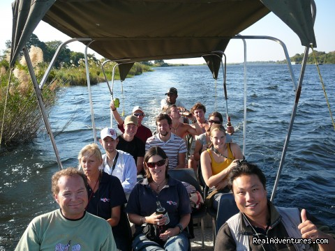 Chobe River Game Cruise, Botswana - Adventure Overland Safaris with Africa Travel Co