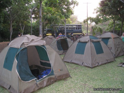Campsite, Zambia - Adventure Overland Safaris with Africa Travel Co