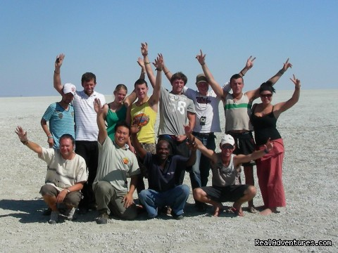 Adventure Overland Safaris with Africa Travel Co: Etosha Pan, Namibia