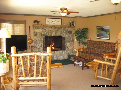 Living Room in Kamloops (#8 of 24) - Riverfront Cabins on a Private 1400 acre ranch