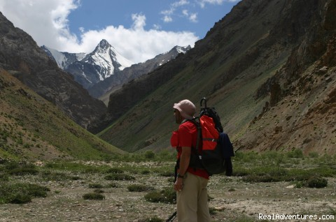 Trek in Kanji Area in Ladakh - Trekking,Expedition and Family Holiday in Ladakh.