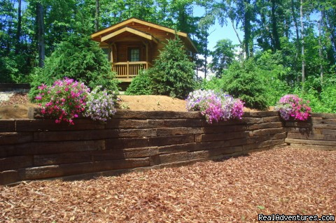 Country Charm | Image #1/23 | Hillsboro, Ohio  | Vacation Rentals | K & R Serenity Log Cabins