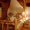 Serenity Log Cabins Country Charm Bed