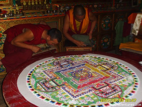Sand Mandala - Explore Rich Buddhist Culture of Ladakh Himalaya