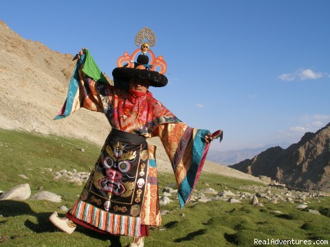 Monk Mask Dance - Explore Rich Buddhist Culture of Ladakh Himalaya