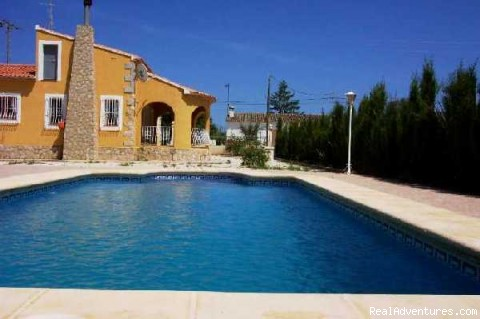 Costa Blanca villa rental (#1 of 18) - Villa Benibrai. Costa Blanca rental