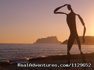 Moraira Beach. 15 Km. from the villa - Villa Benibrai. Costa Blanca rental