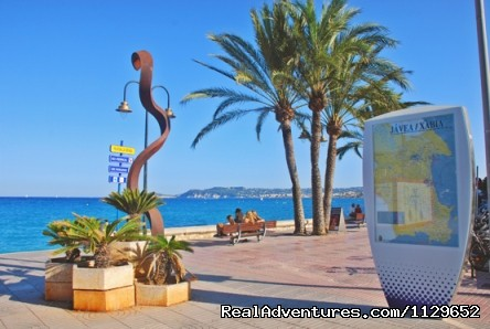 Javea Beach. 20 Km. from the villa - Villa Benibrai. Costa Blanca rental