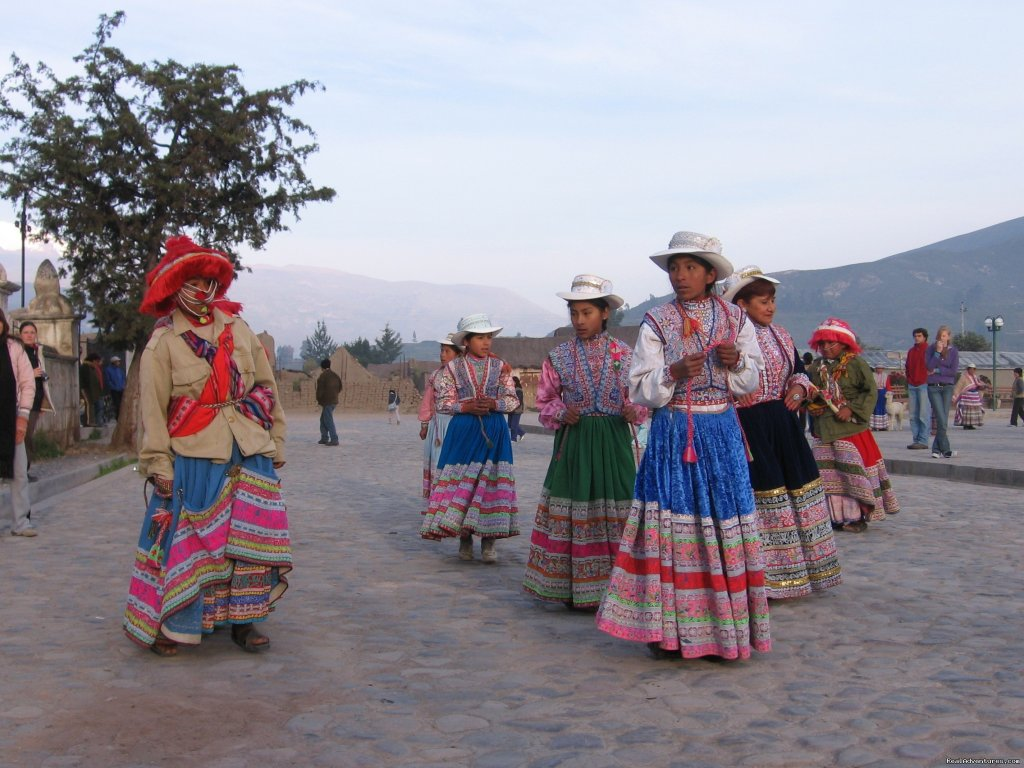 Traditional dancing in the Colca Canyon | Image #10/15 | Incas & Amazon - Peru Small Group Adventure