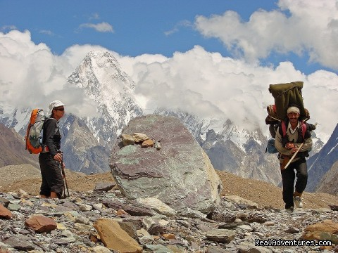 Trekking on Baltoro - NORTH PAKISTAN ADVENTURE Trekking andTours