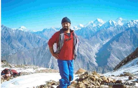 On the Summyar Pass - NORTH PAKISTAN ADVENTURE Trekking andTours