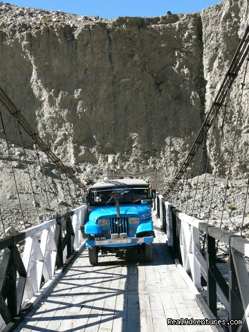 Road to Shimshal-Hunza - NORTH PAKISTAN ADVENTURE Trekking andTours