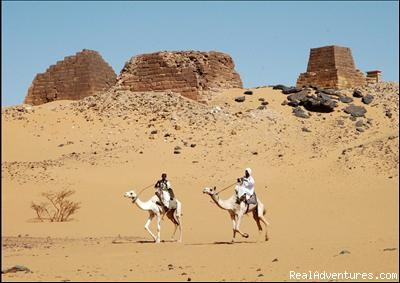 Tours to Pyramids & archeological sites: Meroe pyramids