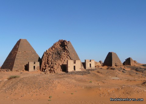 - Tours to Pyramids & archeological sites