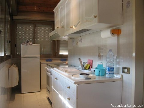 kitchen with solarium