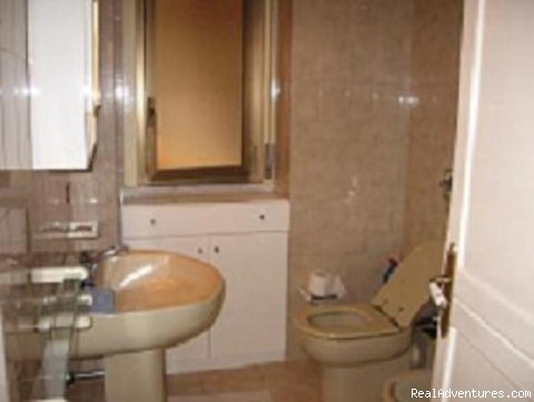 rest-room with shower