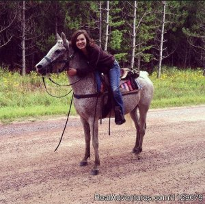 Gentle,well-trained Horses-Horseback Adventures Neillsville, Wisconsin Horseback Riding