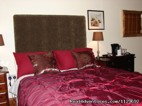 One of the Double Rooms - Biddulph's Best Bed and Breakfast Accommodation