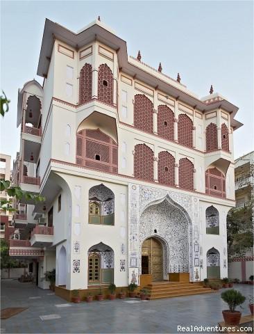 Jaipur Heritage Hotel Main Building