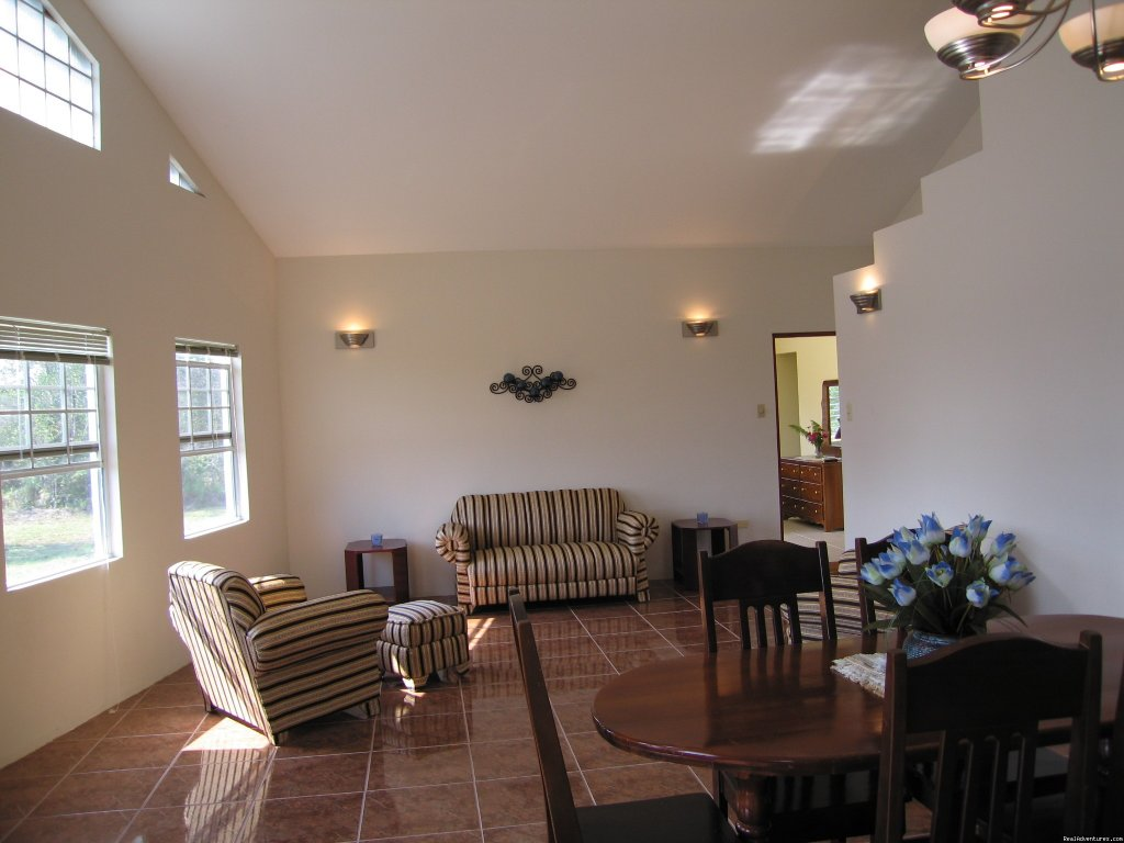Living Area | Image #3/3 | Belize River Valley Vacation Rental