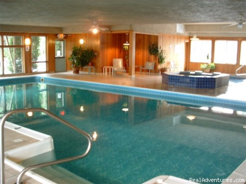 Indoor Pool - The Colonial Inn