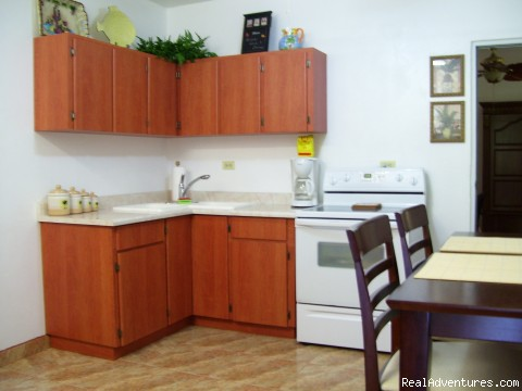Spacious Kitchen (#4 of 5) - Affordable & Spacious Villa Sol 2 Blocks to Beach
