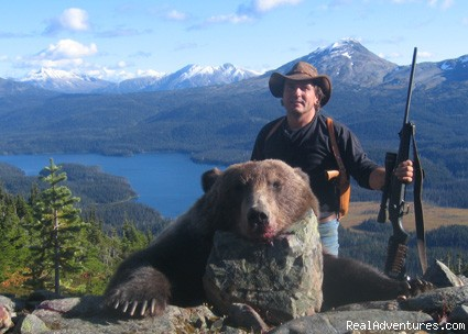 Guided Big Game Hunts in BC: Whitesail Guides & Outfitters