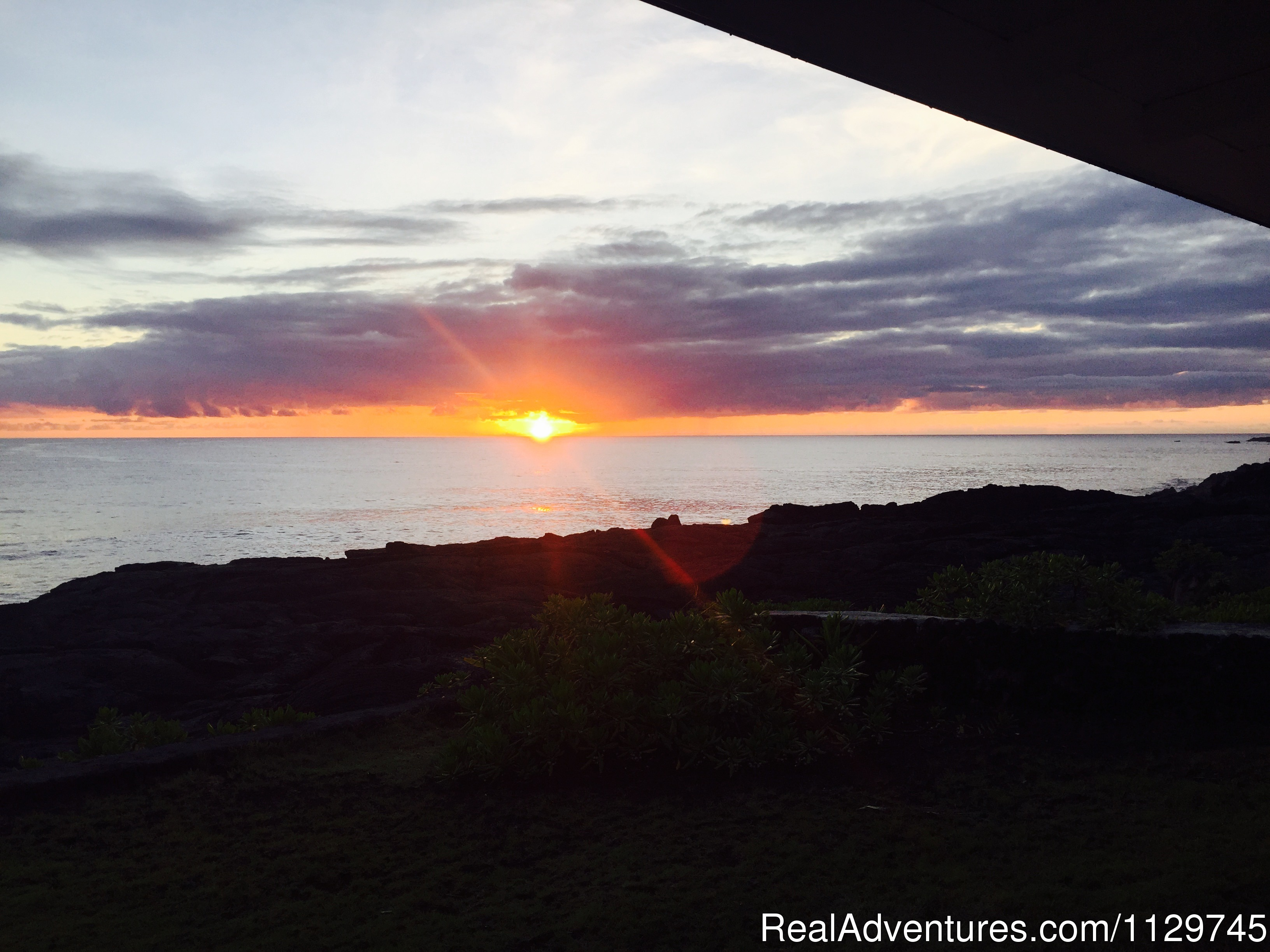 Sunset from the Alohahouse Priceless