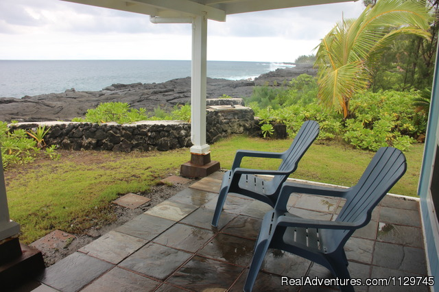 View from living room of Dolphin Home - Big Island Hawaii Vacation Homes at a Great Price