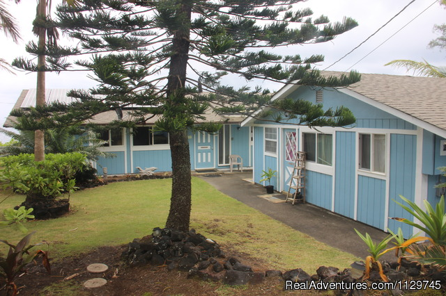 Oceanfront Alohahouse Exterior View - Big Island Hawaii Vacation Homes at a Great Price
