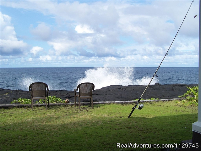 Oceanfront Alohahouse - Big Island Hawaii Vacation Homes at a Great Price