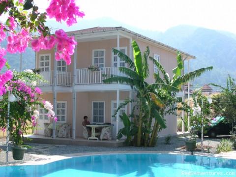 Narin Apart in Icmeler: Back villa