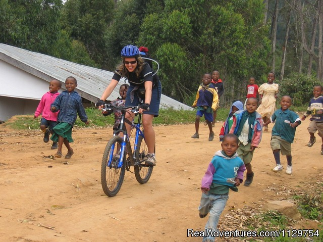 Kenya and Tanzania Adventurous Cycle Tour Biking with Maasai friends