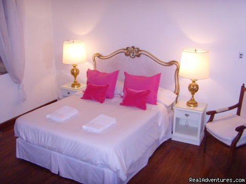 double bed room - ground floor - Tesorito Bed & Breakfast