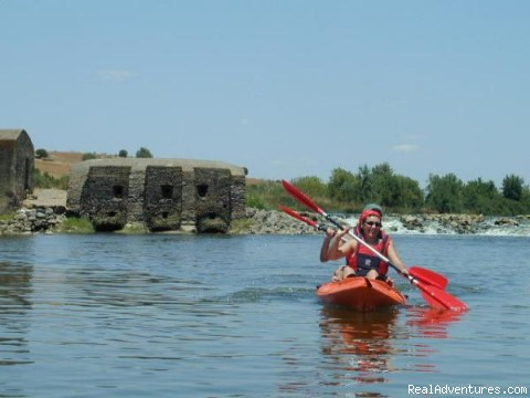 Canoeing on Portugal Rivers - Tours & Transfers. Outdoor, Balloning, Rent-a-Bike