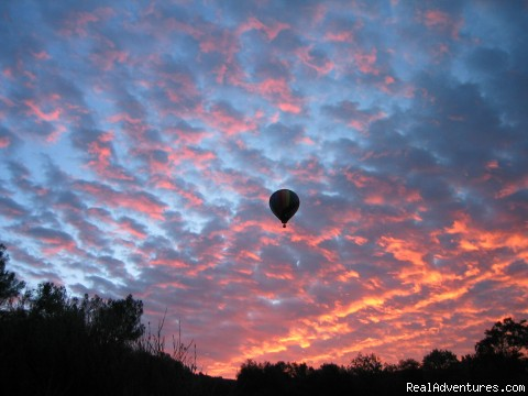 By the Dawns Early Light - Hot Air Balloon Rides above Northern California